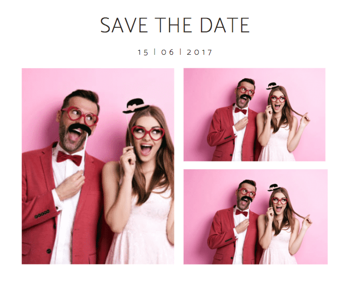 Come and get your personalised 'Save the Dates' ticked off… -