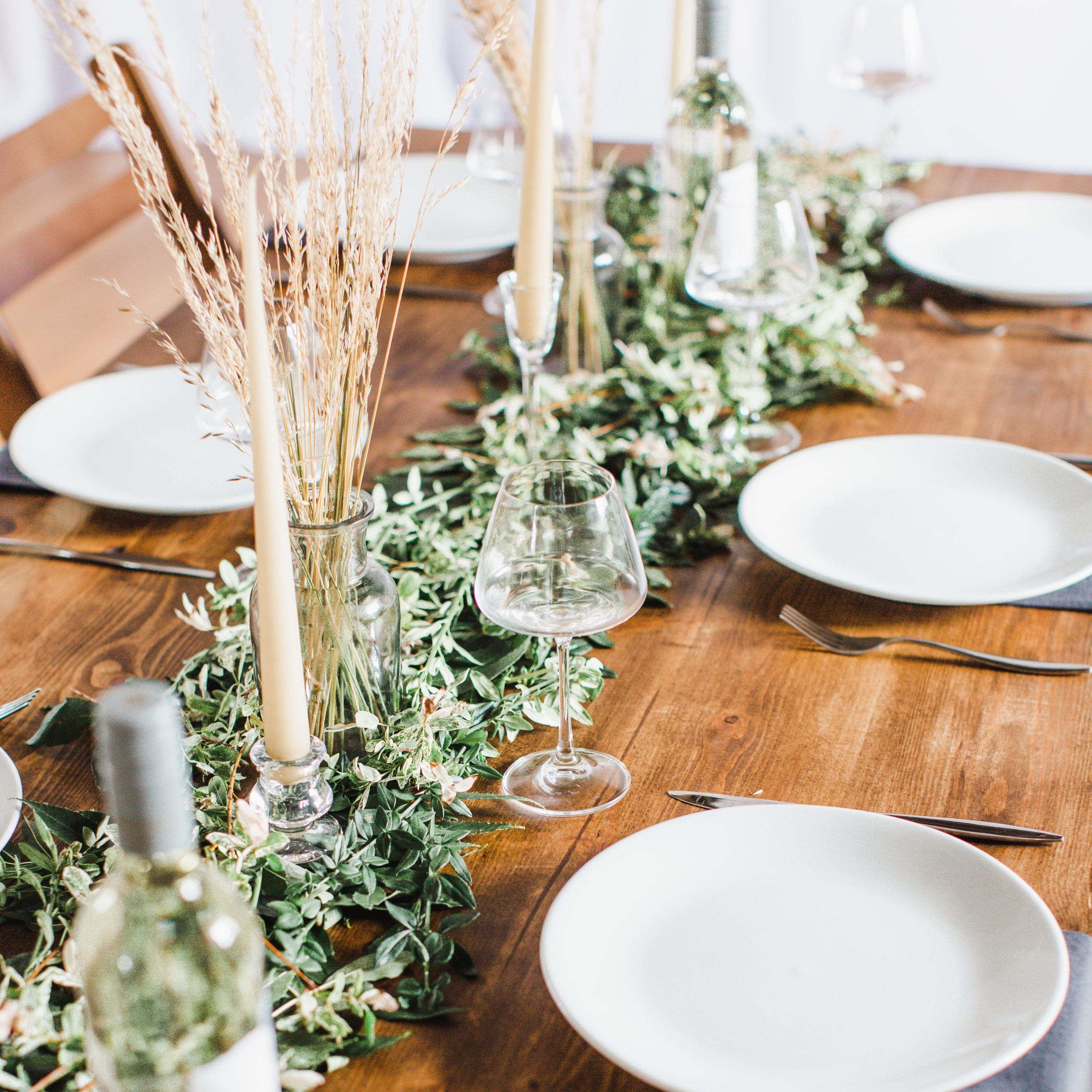 Decor Collection - We have chosen to partner with The White Company in order to supply your wedding with luxurious table decor that has been sustainably and ethically sourced. We will give you access to all of our decor so you have the freedom to create your own stunning table design with no restrictions.