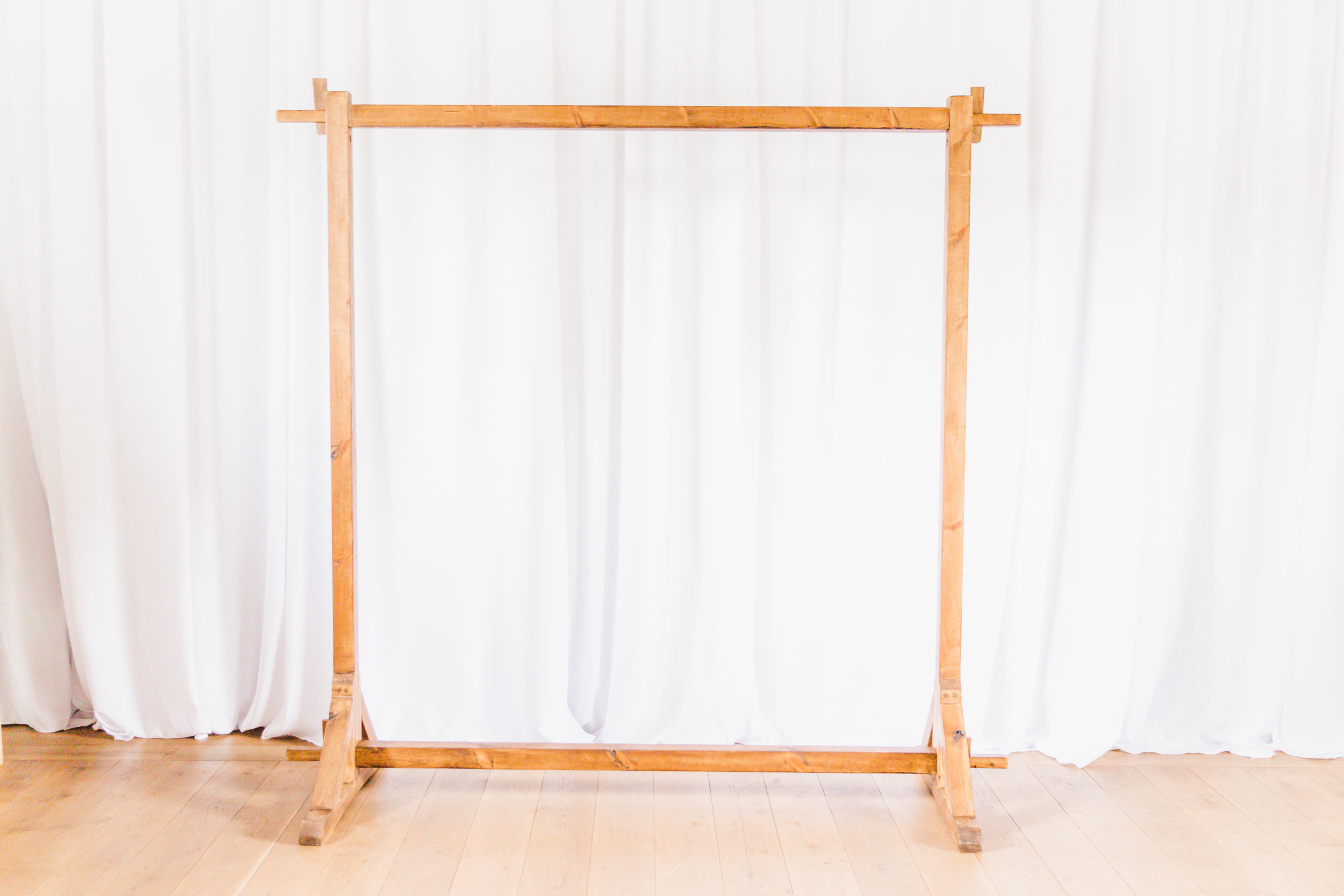 Arch - Make you Pinterest a reality and design your own arch. Why not choose our macrame piece made from organic cotton.