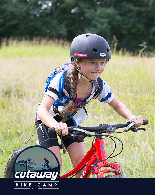 GIRLS DAY CAMP - JUNE 8 - 9, 2019 (DAY CAMP)AGES: 7 to 12 EXPERIENCE: Beginner to lower-intermediateRiders will be able to develop their cycling skills in a fun, supportive environment with some of the area's top mountain bikers. The Youth Weekend Camp riders spend two days building their confidence on a bicycle while enjoying time with their peers.