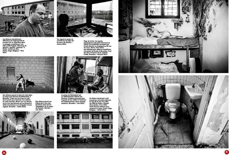 Prisons for Le Soir Magazine