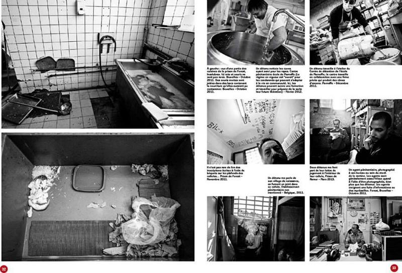 Prisons for Le Soir Magazine