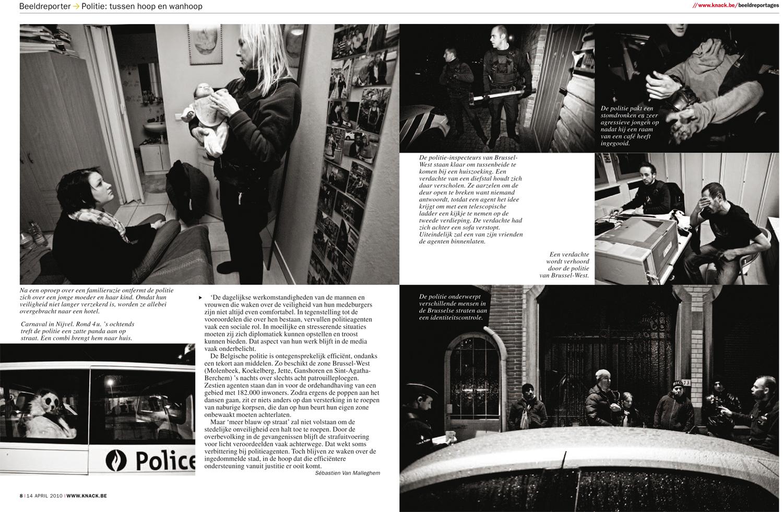 Police for Knack Magazine