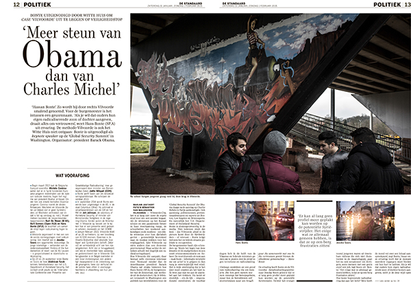 Assignment for De Standaard
