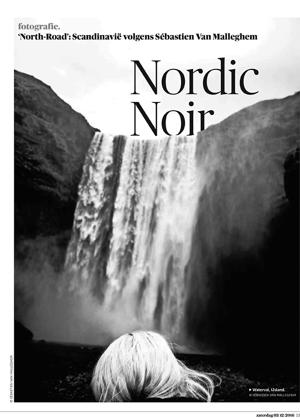 Nordic Noir 6 pages for De Morgen