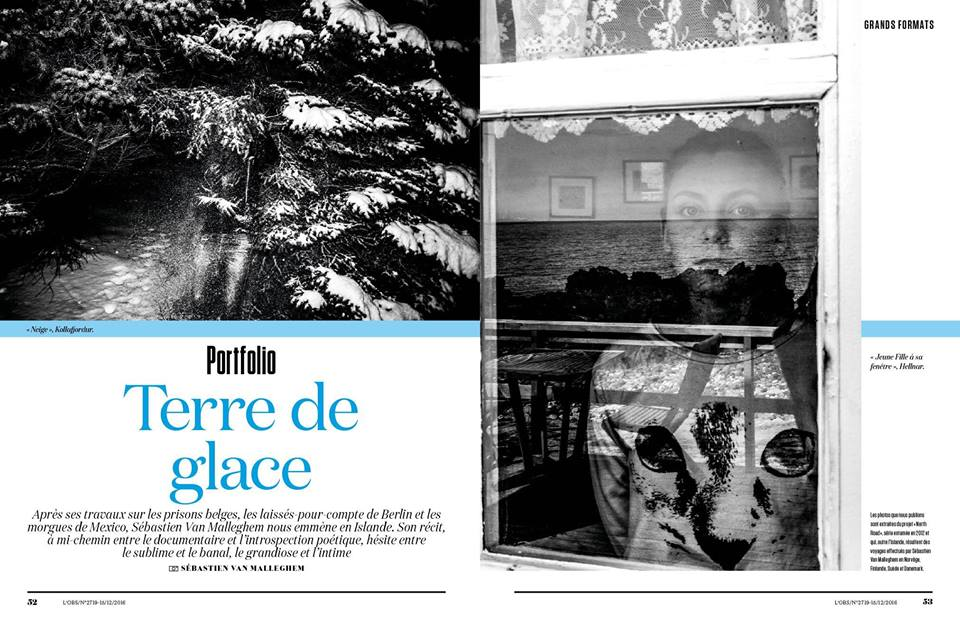Nordic Noir 6 pages for L'Obs