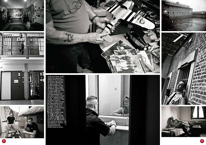 PRISONS for Le Soir Magazine 6 pages