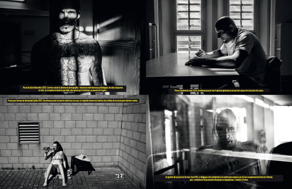 PRISONS for L'OBS 8 pages