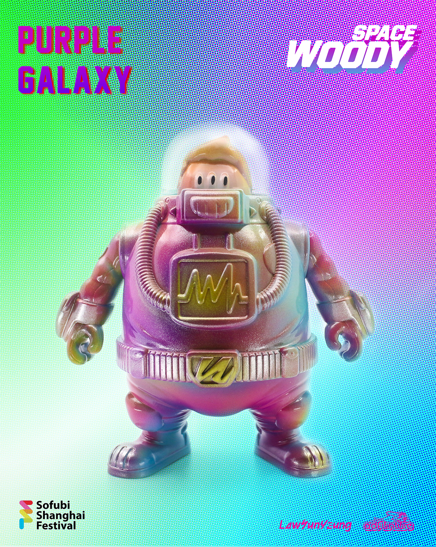 """SPACE WOODY """"Purple Galaxy"""" Micro-Run"""