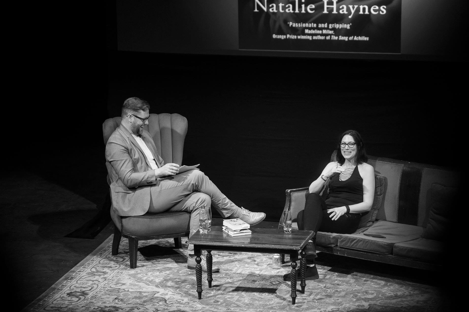 Damian Barr and Natalie Haynes