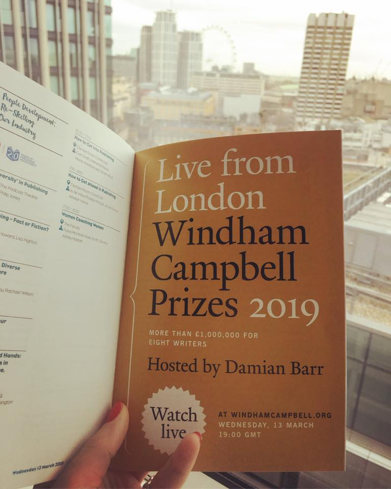 Windham Campbell Prizes 2019