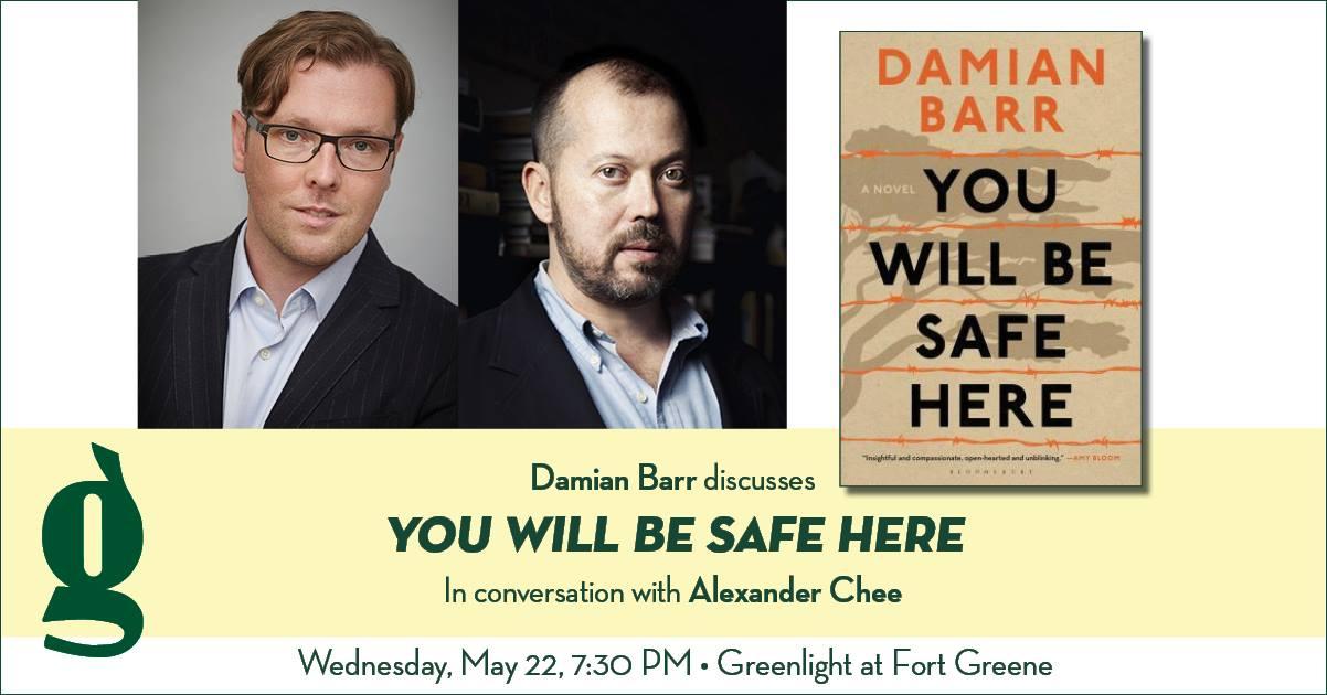Damian Barr at Greenlight