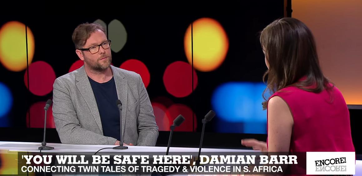 Damian Barr on France 24