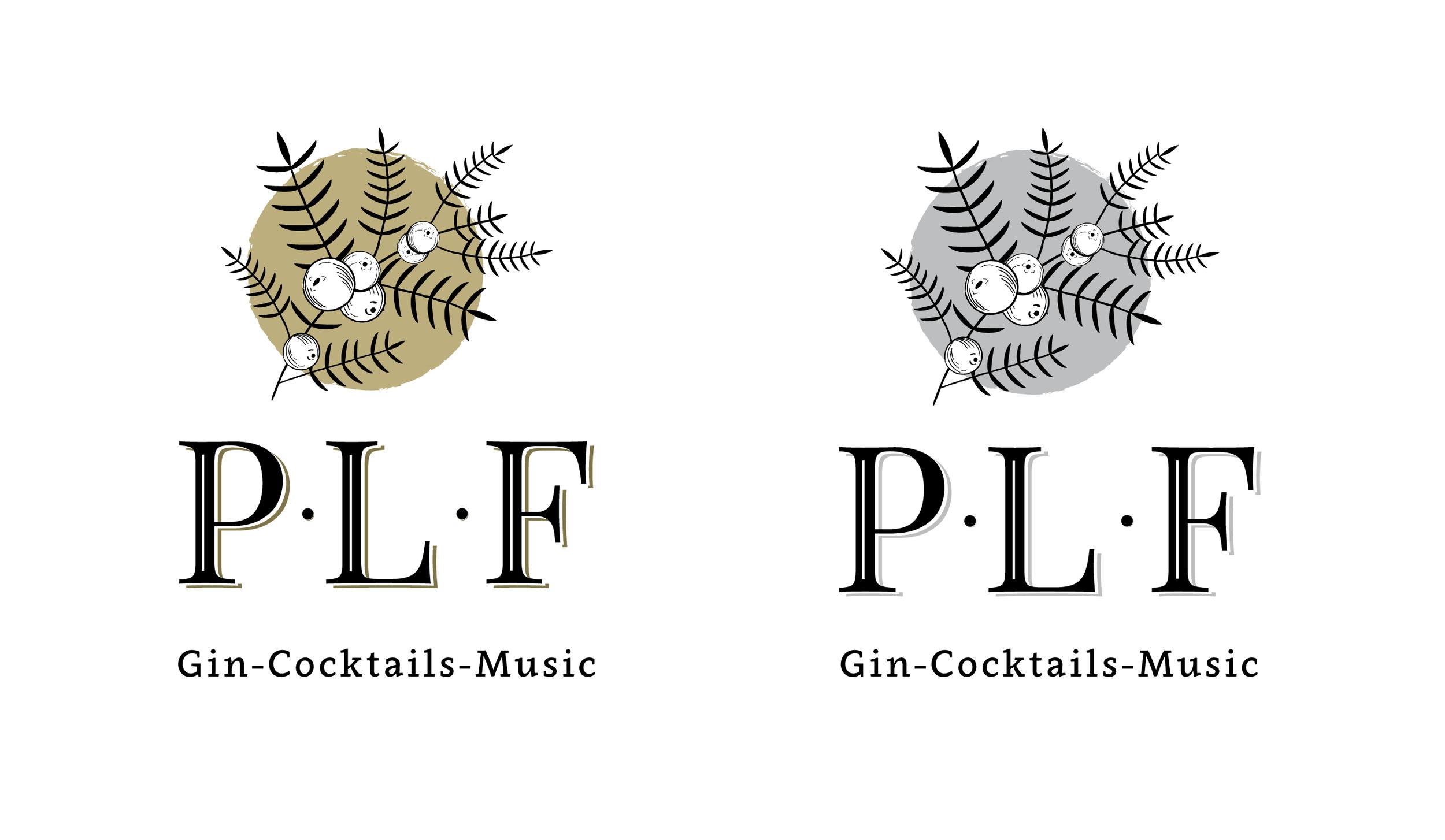Logo concepts 1 - Mustard and Grey