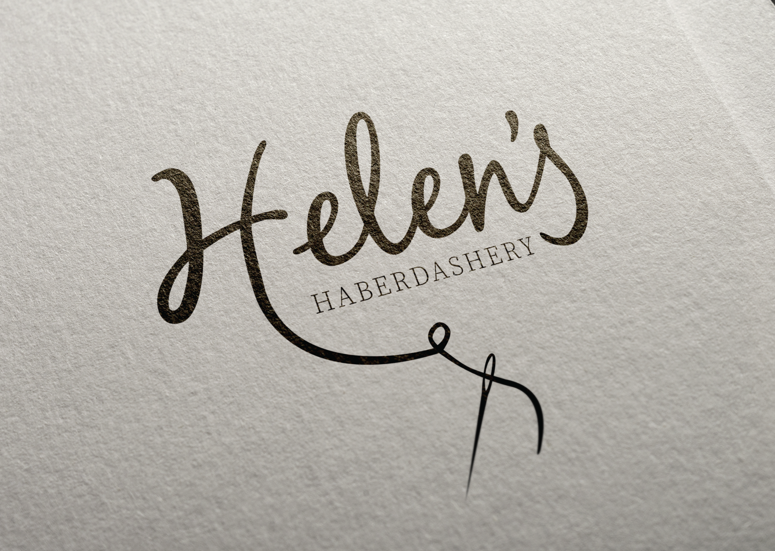Helen's Haberdashery - Paper background