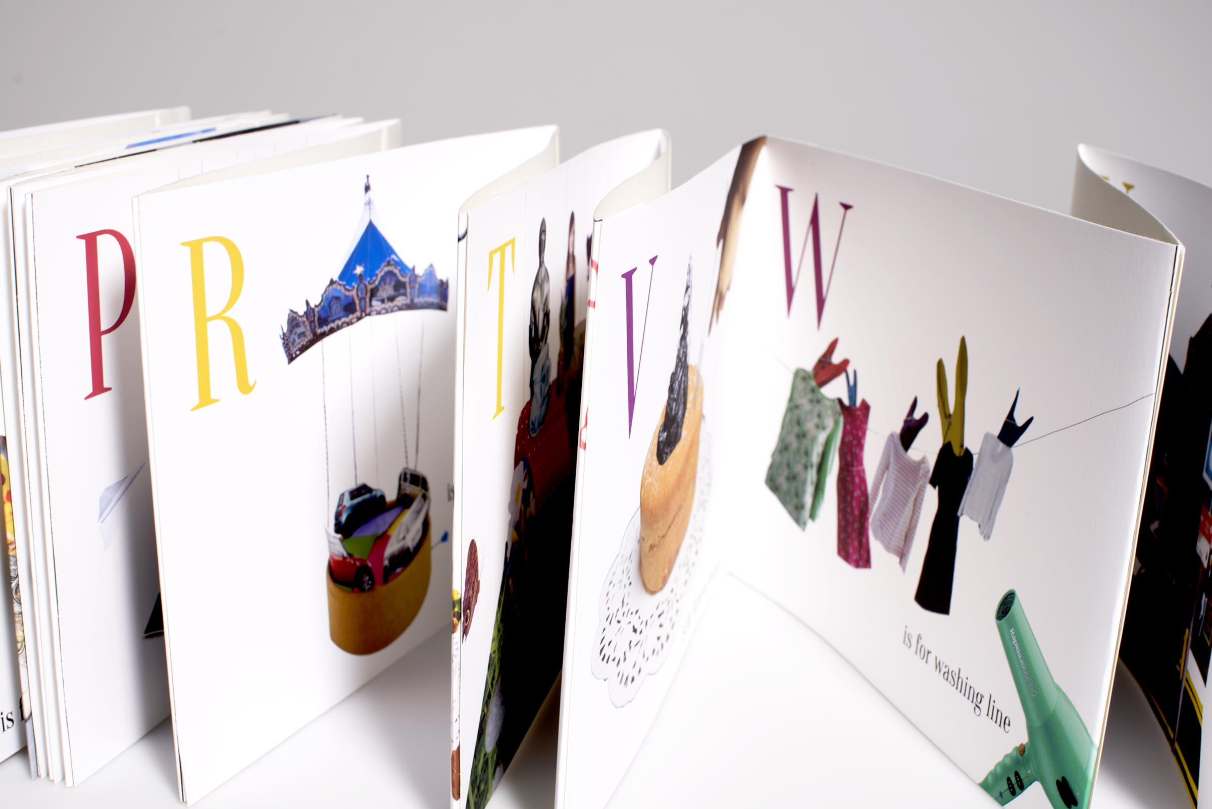 Inside look of the alphabet book