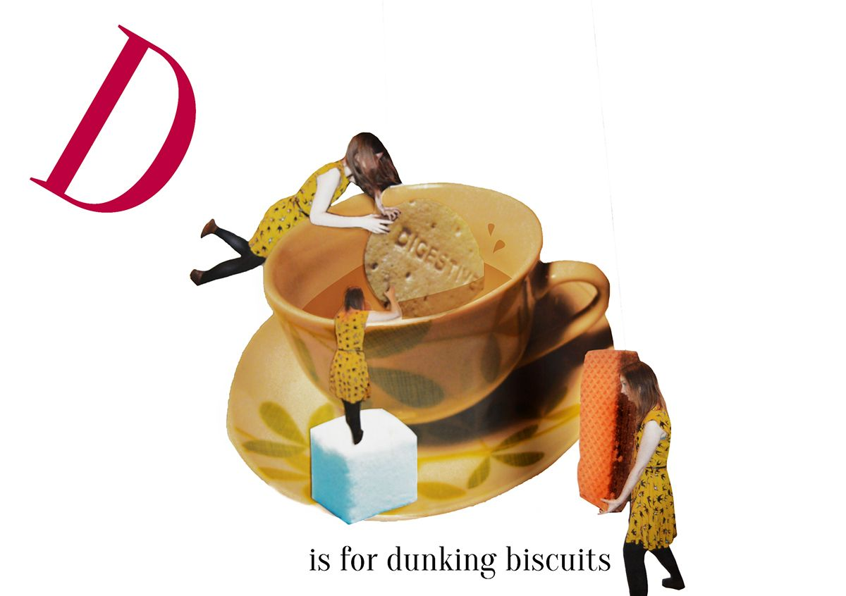 D is for dunking biscuits