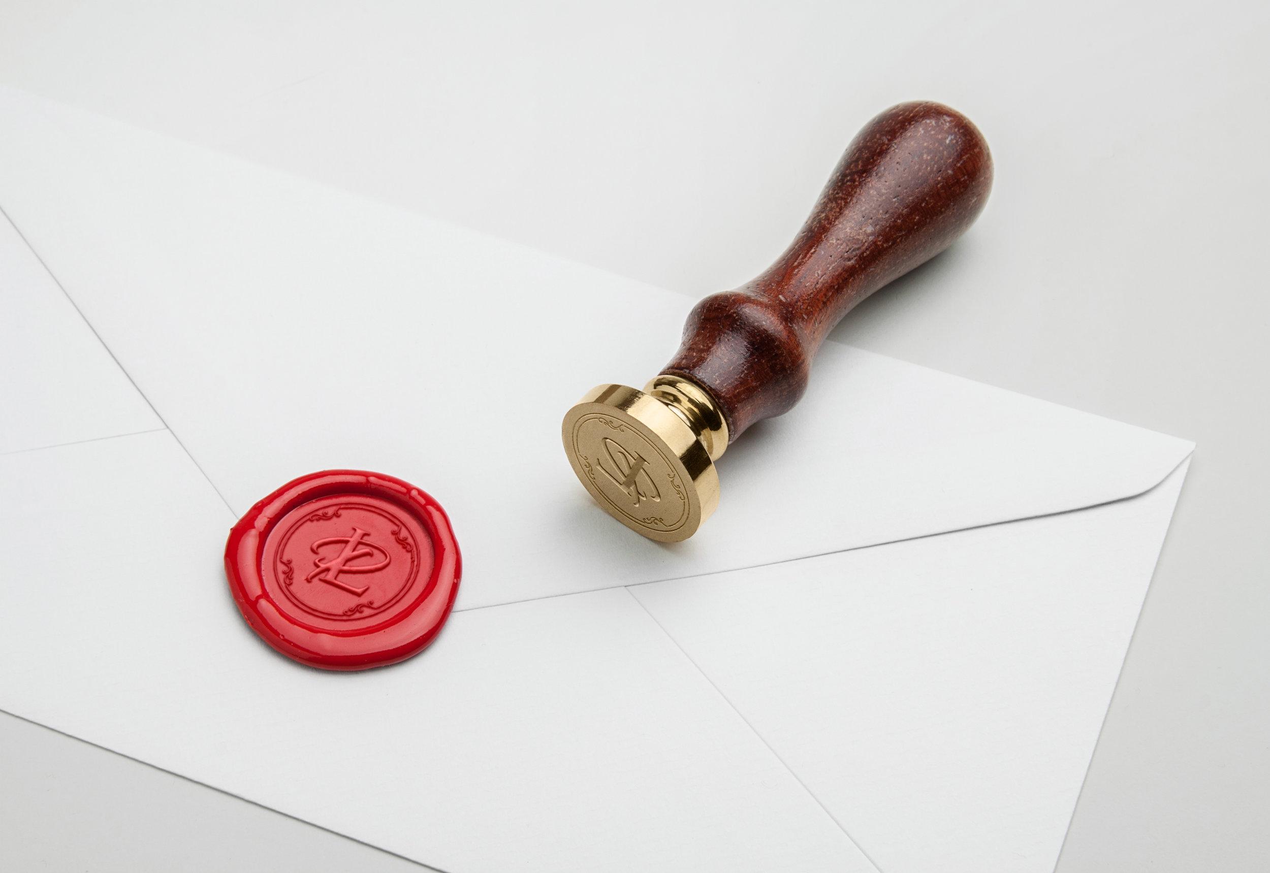 London Lash Pro wax stamp