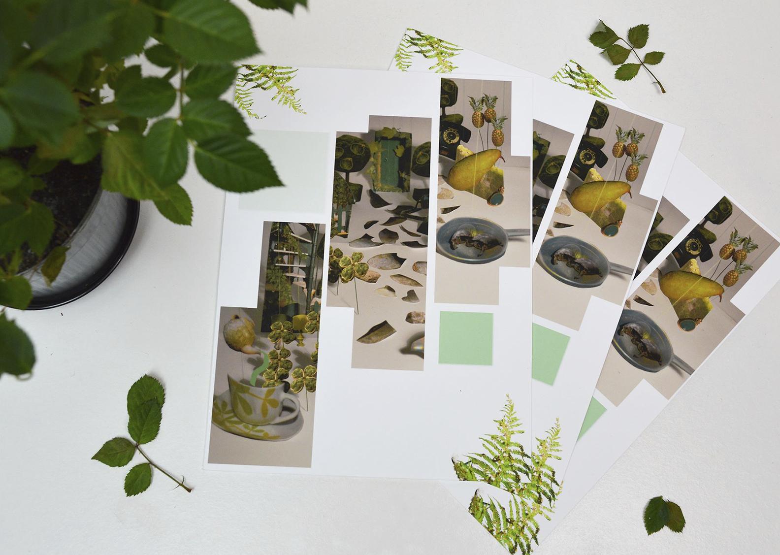 Green Garden print