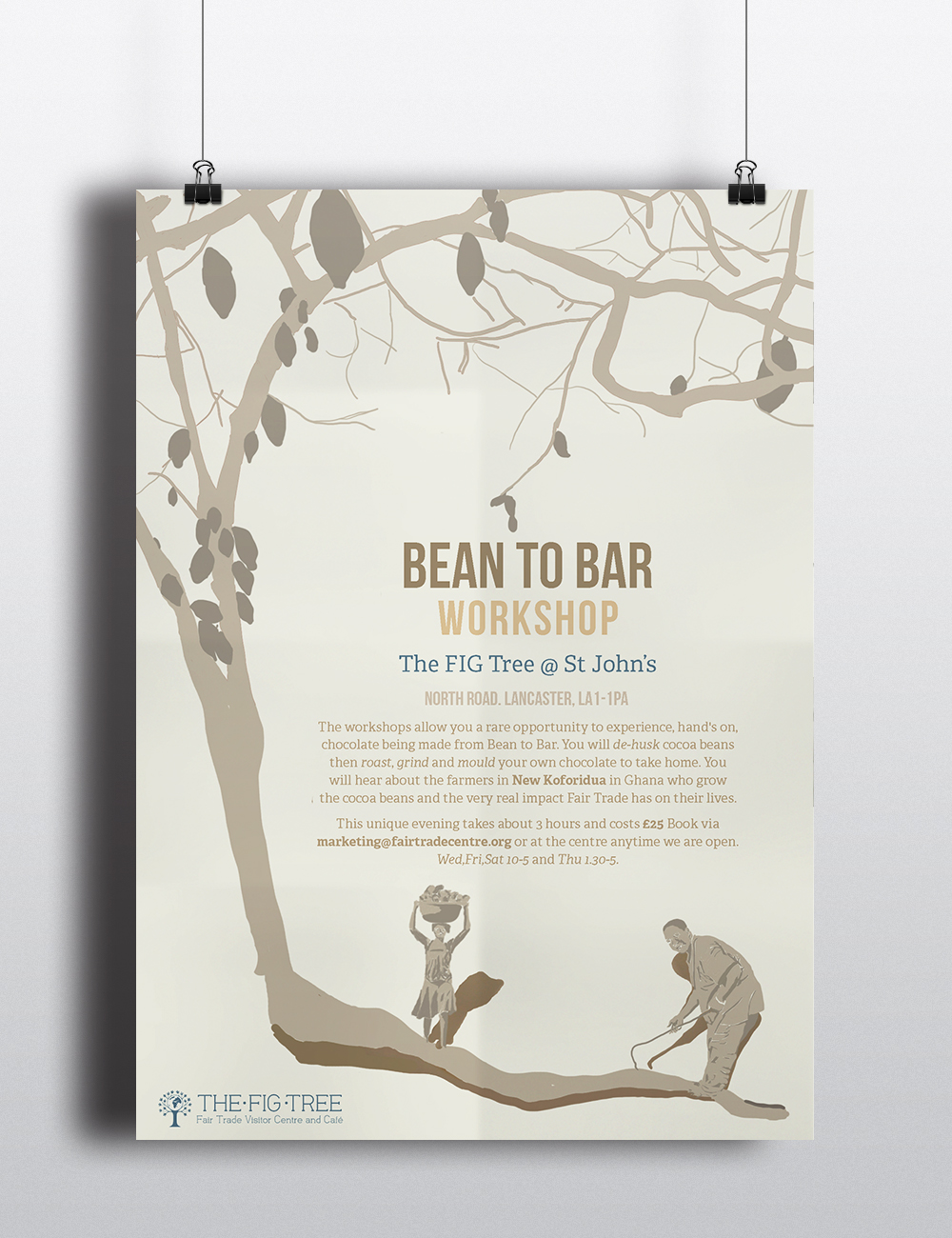 Bean to Bar workshop poster