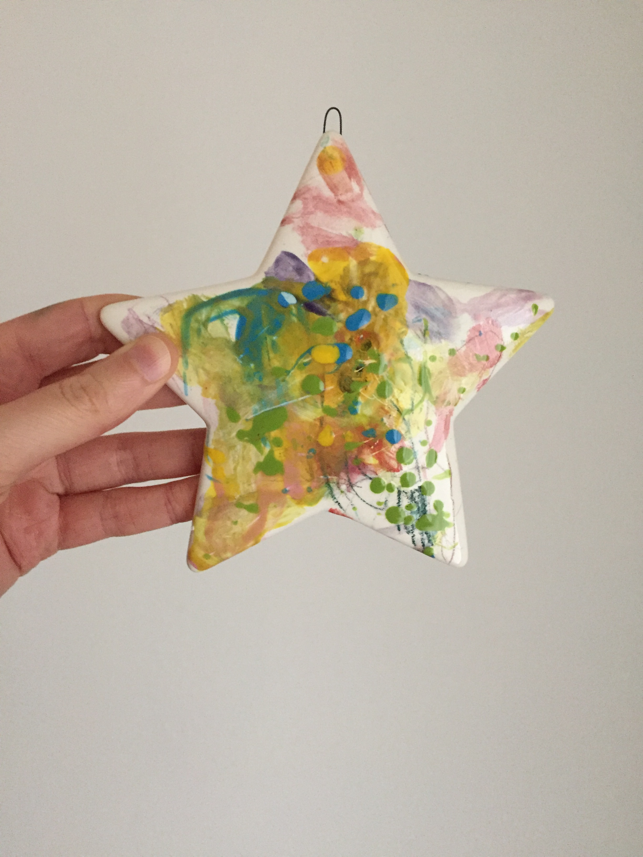 children paint star christmas the pottery experience.JPG