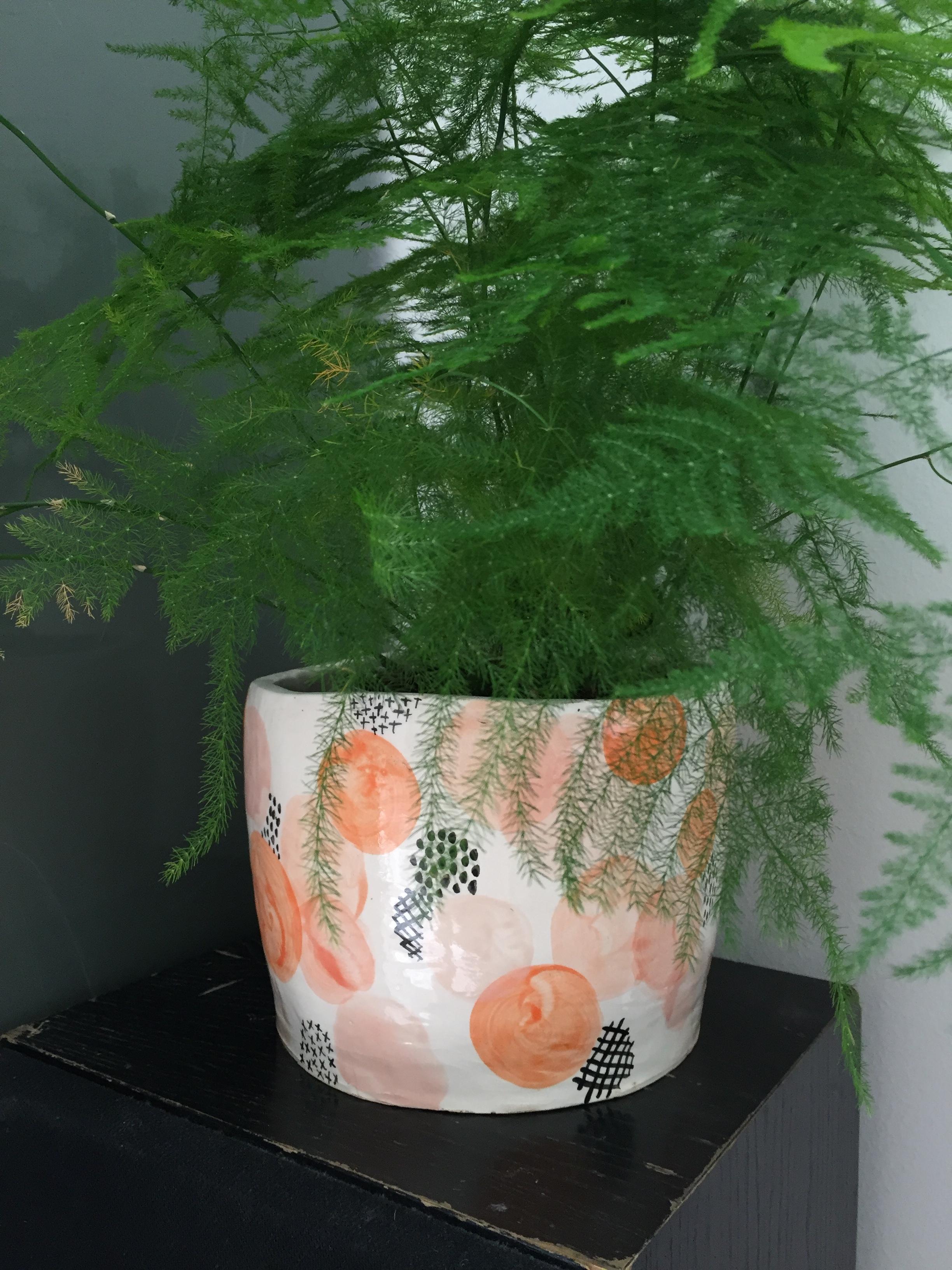 handmade plant pot the pottery experience.JPG