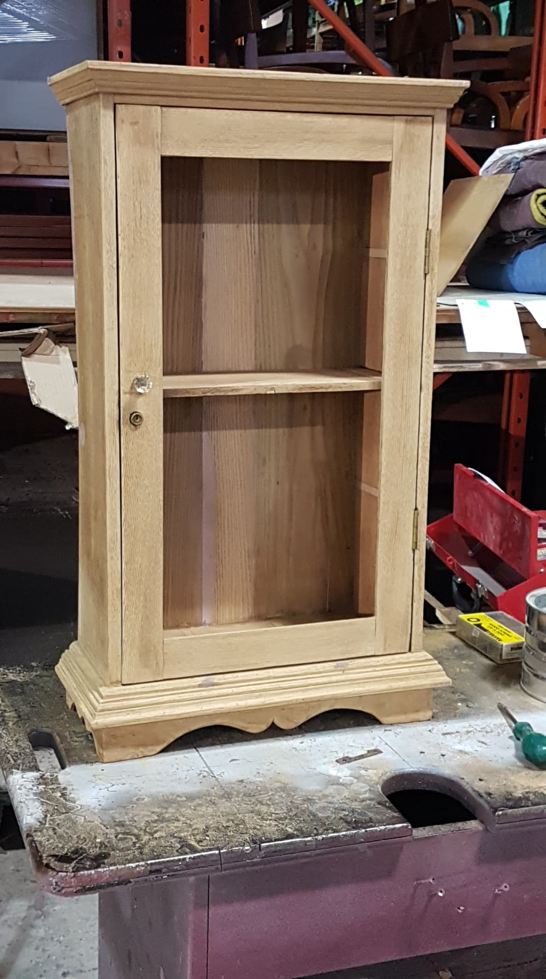 WORK IN PROCESS - Antique Medicine Cabinet