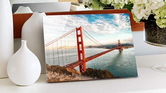 Metal Prints - Infused images right onto the surface of a solid sheet of metal, bright saturated colors and a spectacular shine. Waterproof and Scratch resistant.