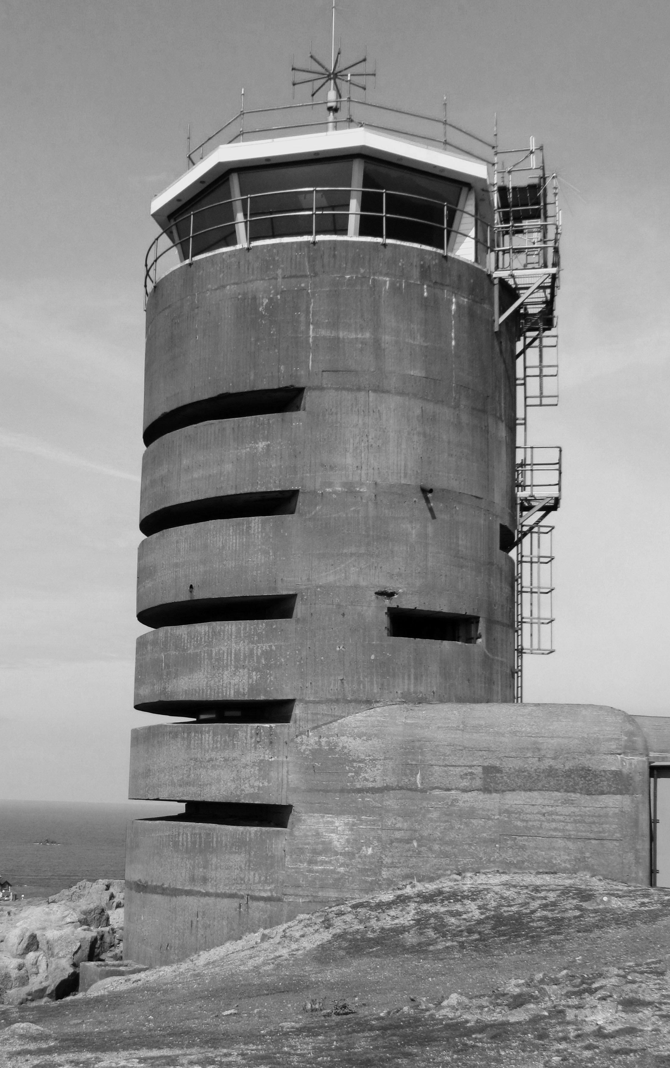 Jersey, tour d'observation bunkerisée