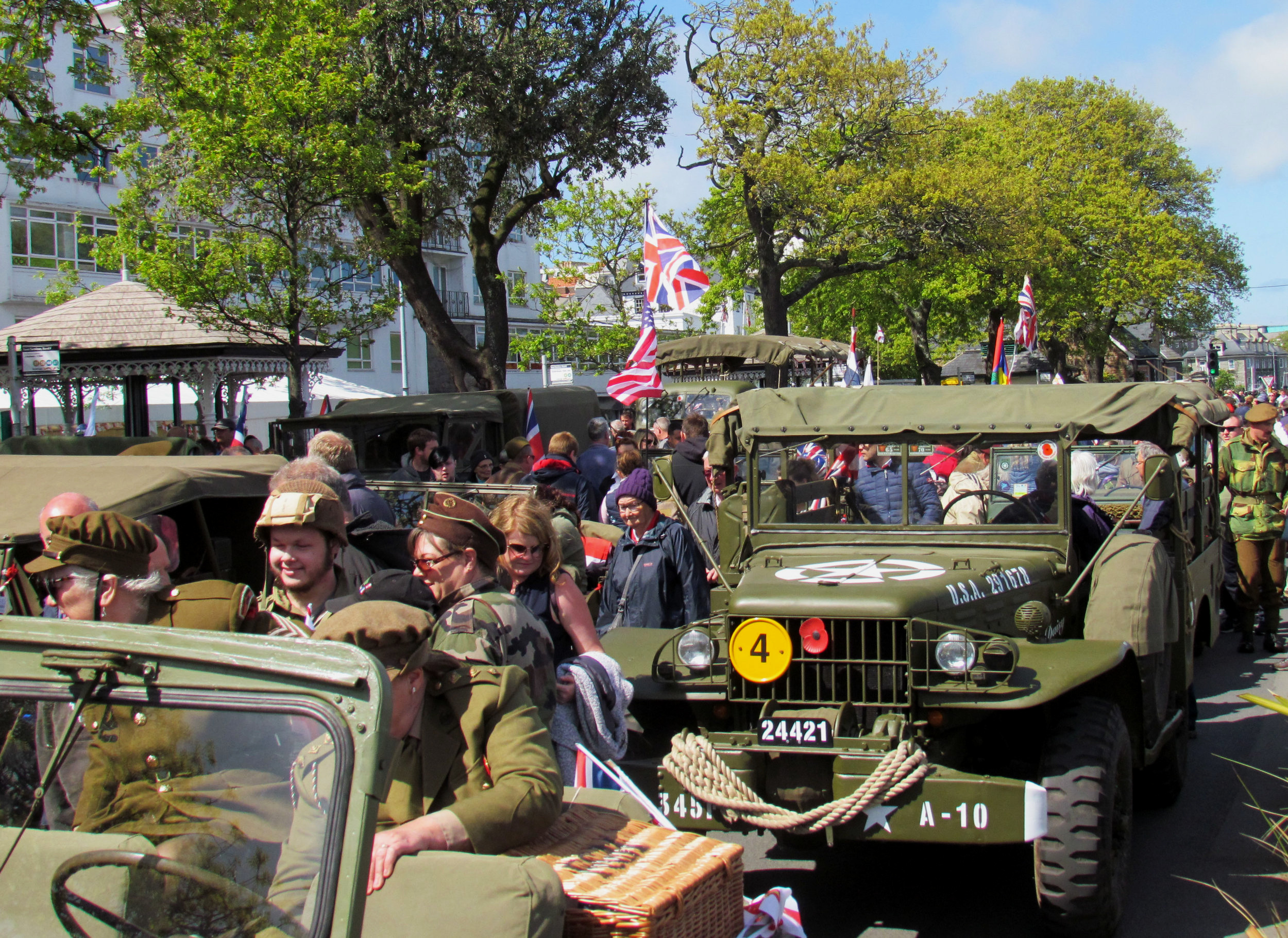 """""""Liberation Day"""" à Guernesey, 09 Mai 2019, Îles anglo-normandes"""