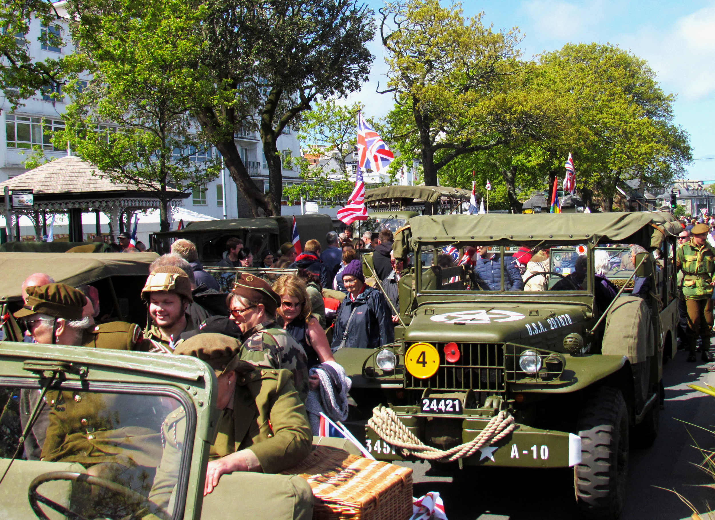 09/05/2019: Liberation Day in Guernsey, Channel Islands