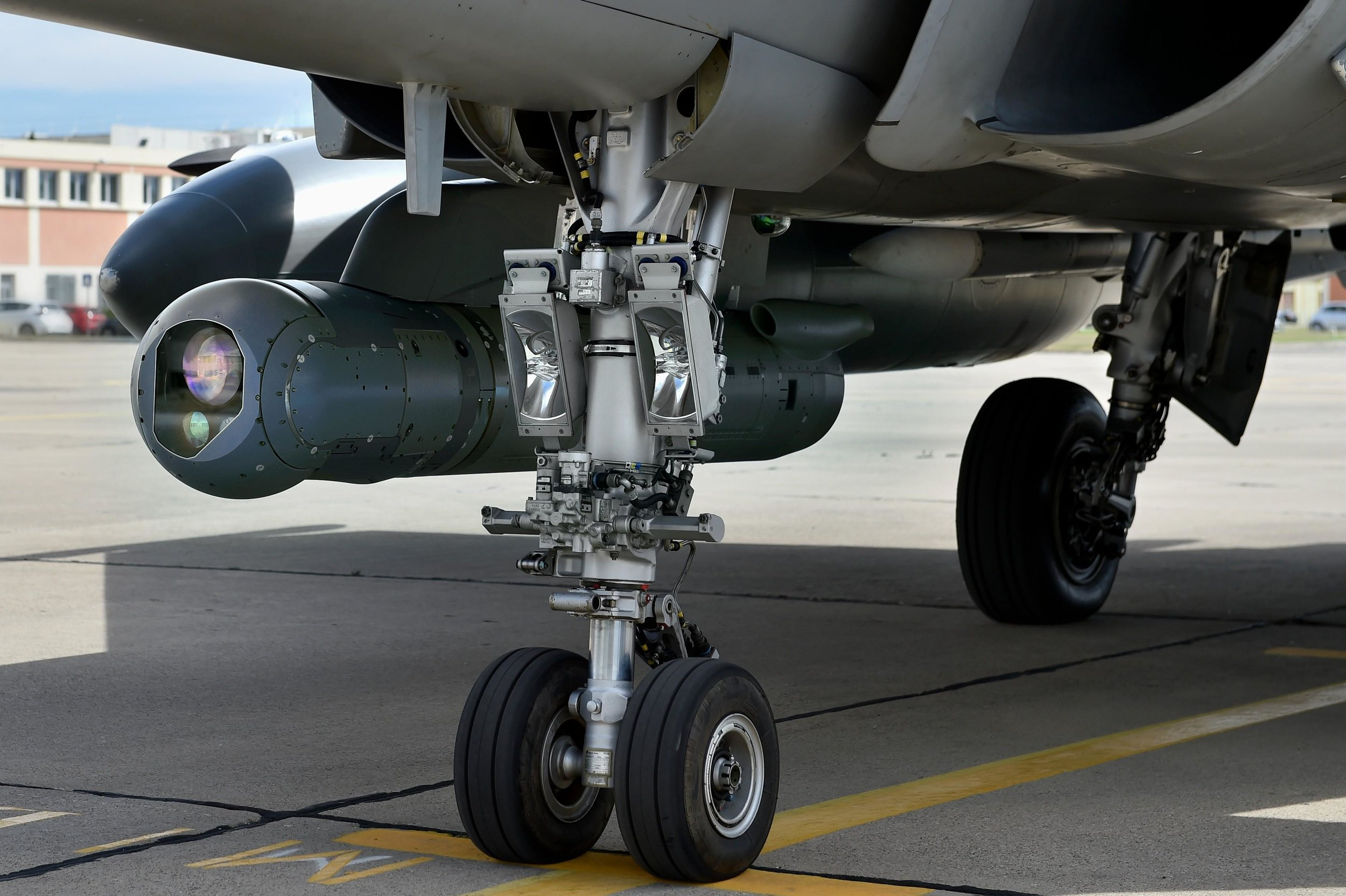 Thales Pod under Rafale by Dassault
