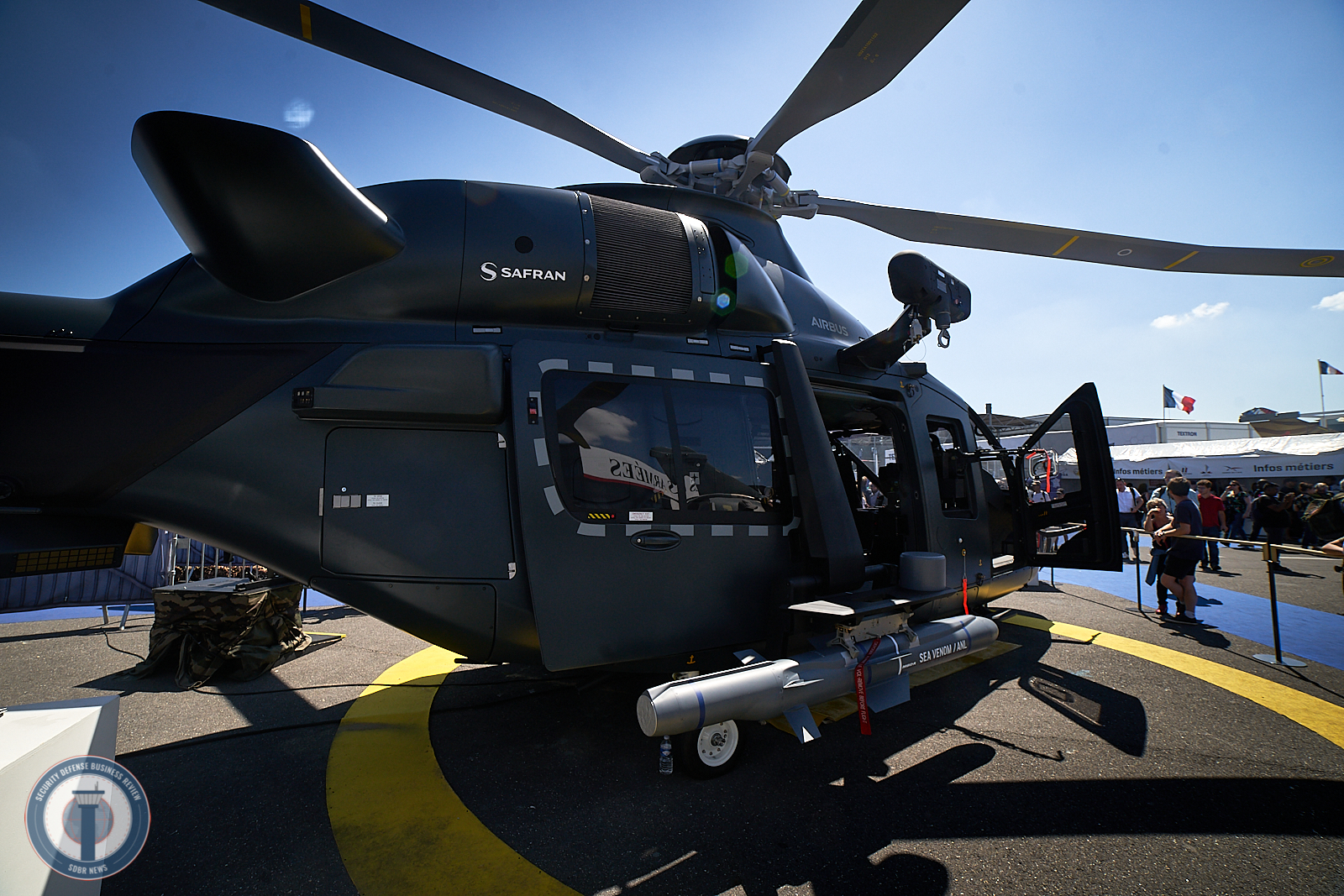 Attack helicopter H160M by Airbus and Safran