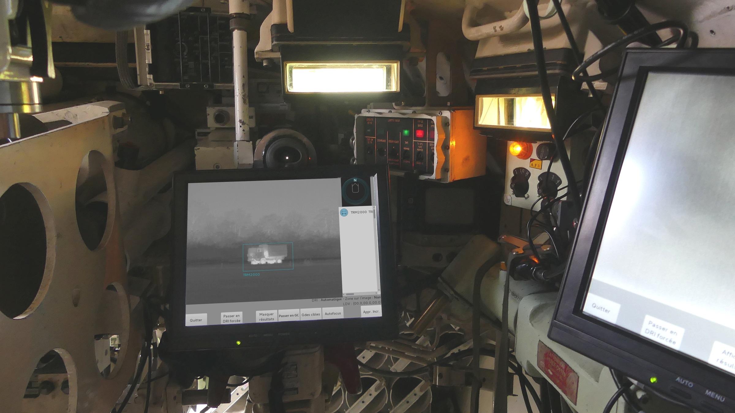Intégration d'un démonstrateur 2ACI sur blindé lourd - Photo MBDA