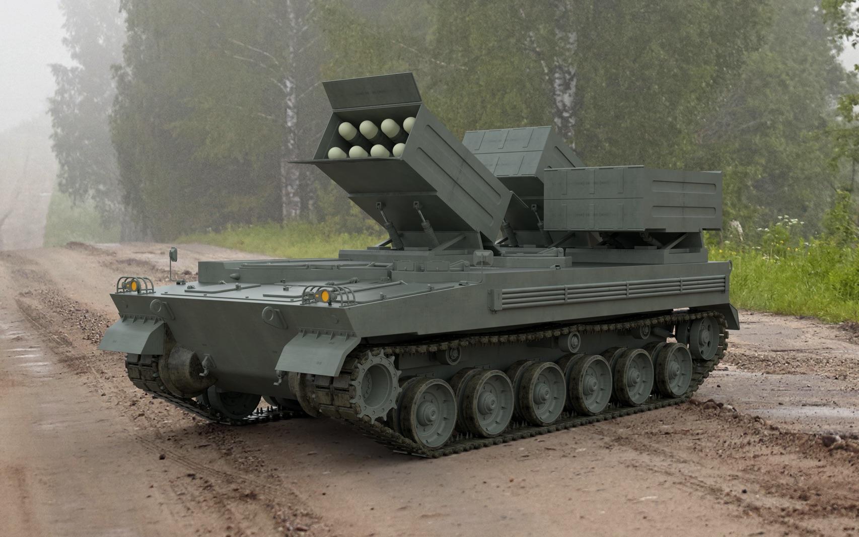 Brimstone Tank Destroyer on K9 chassis.jpg