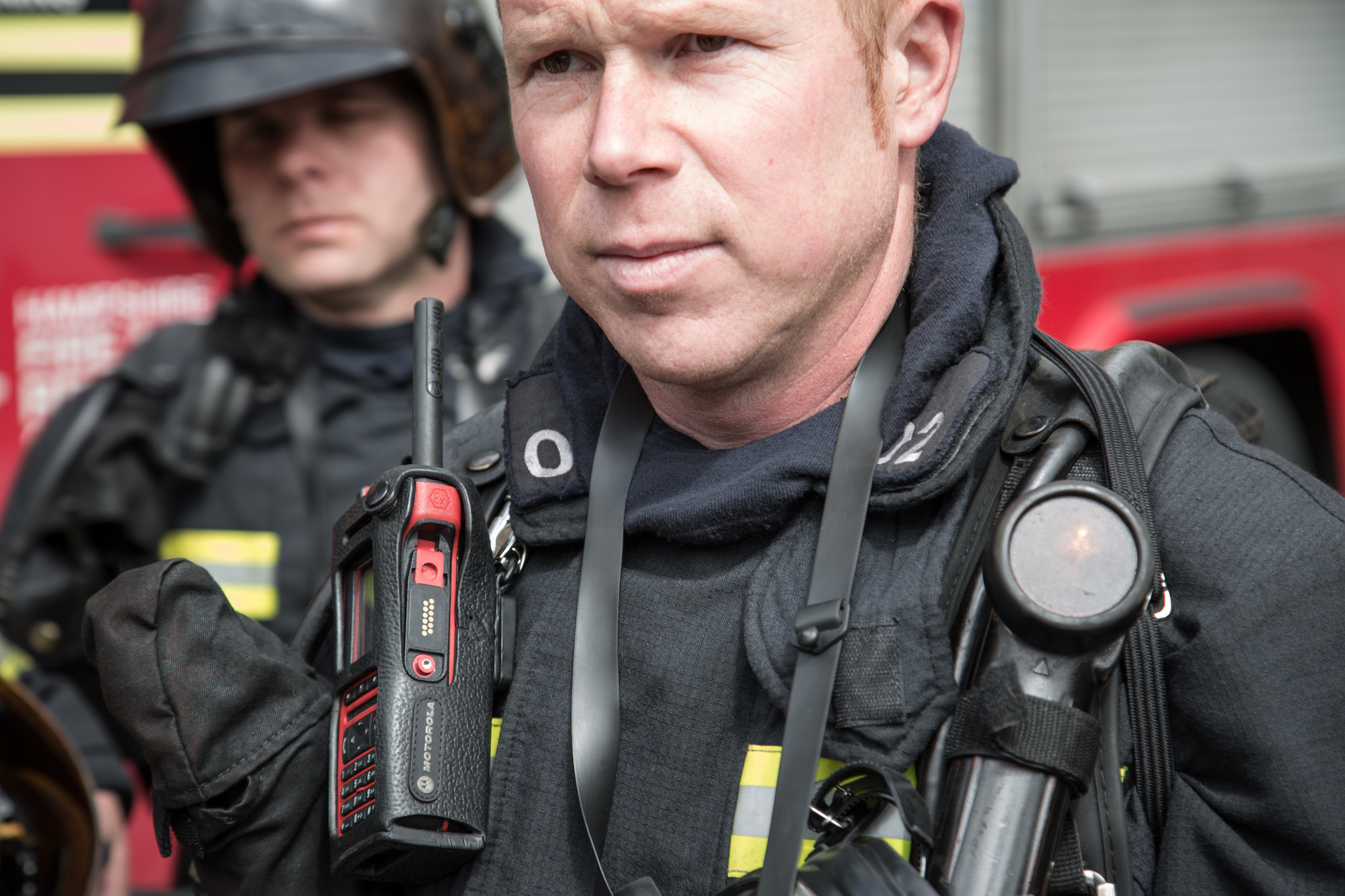 Fire and rescue teams with Motorola Solutions