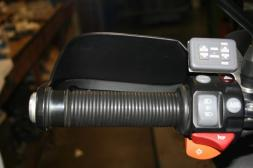O-RIng Grip Kit  - increases the diameter of OEM grips for ease of use