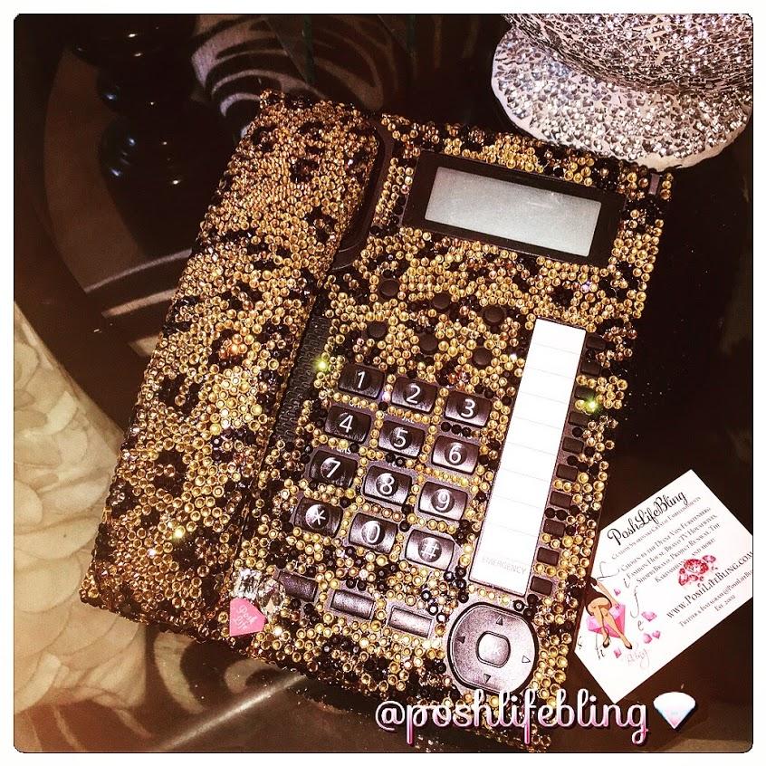 cheetah desk phone poshlifebling 2015.JPG