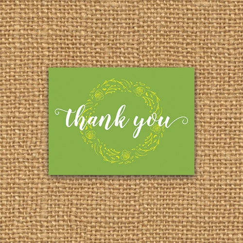 Card Packs - Thank you cards sold in bulk, so you can send something pretty to your people.