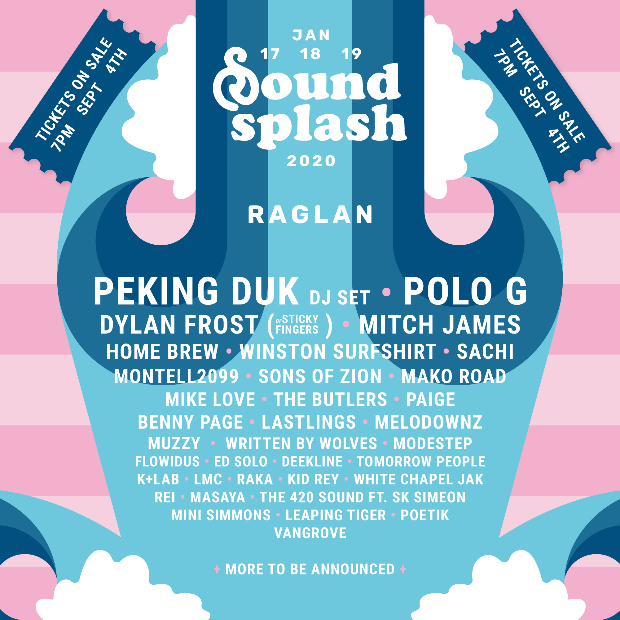 splash 2020 acts