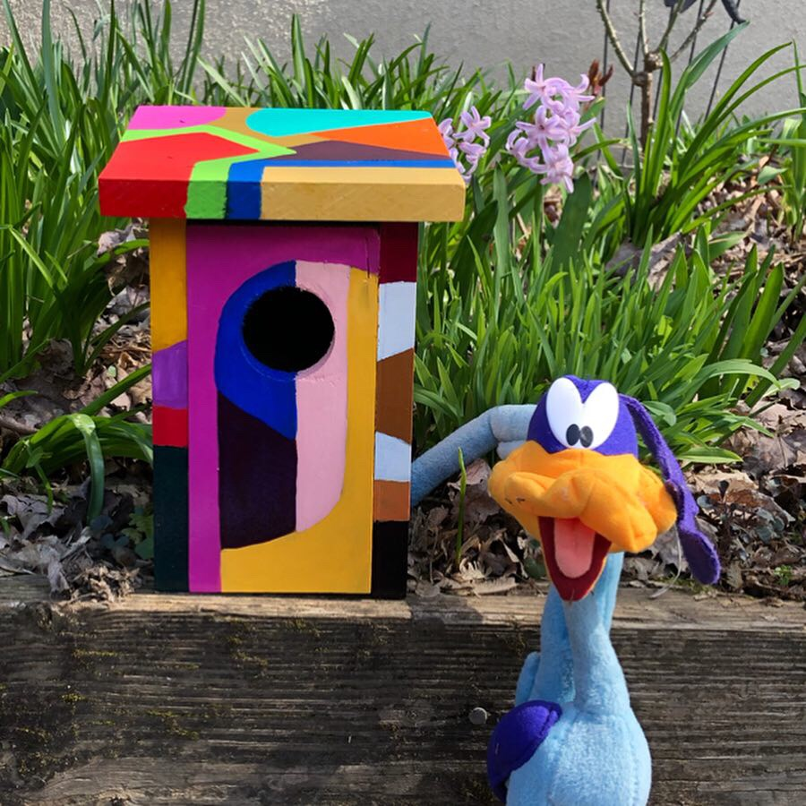 Bizarre Birdhouse
