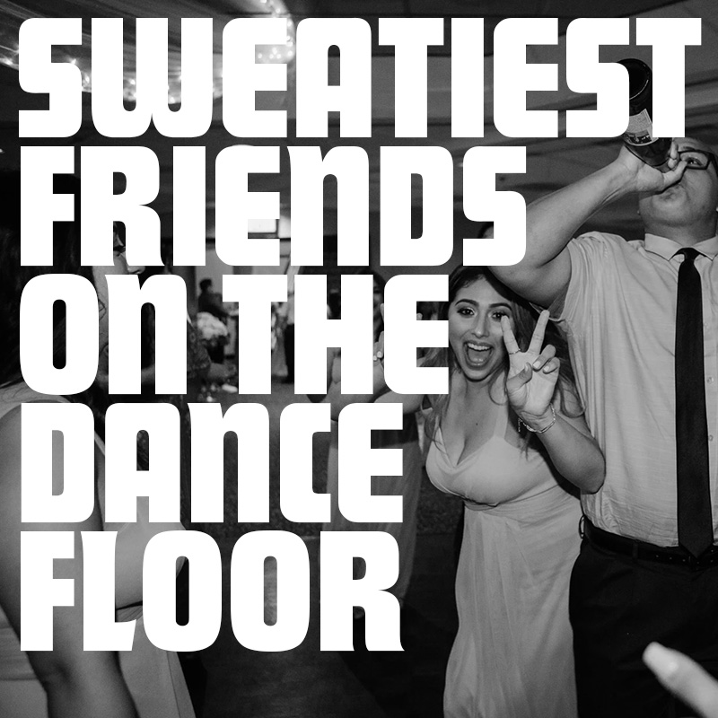 3-6pm, 9pm-Midnight PT - Sweatiest Friends on the Dance FloorInky #00FFFFParty vibes