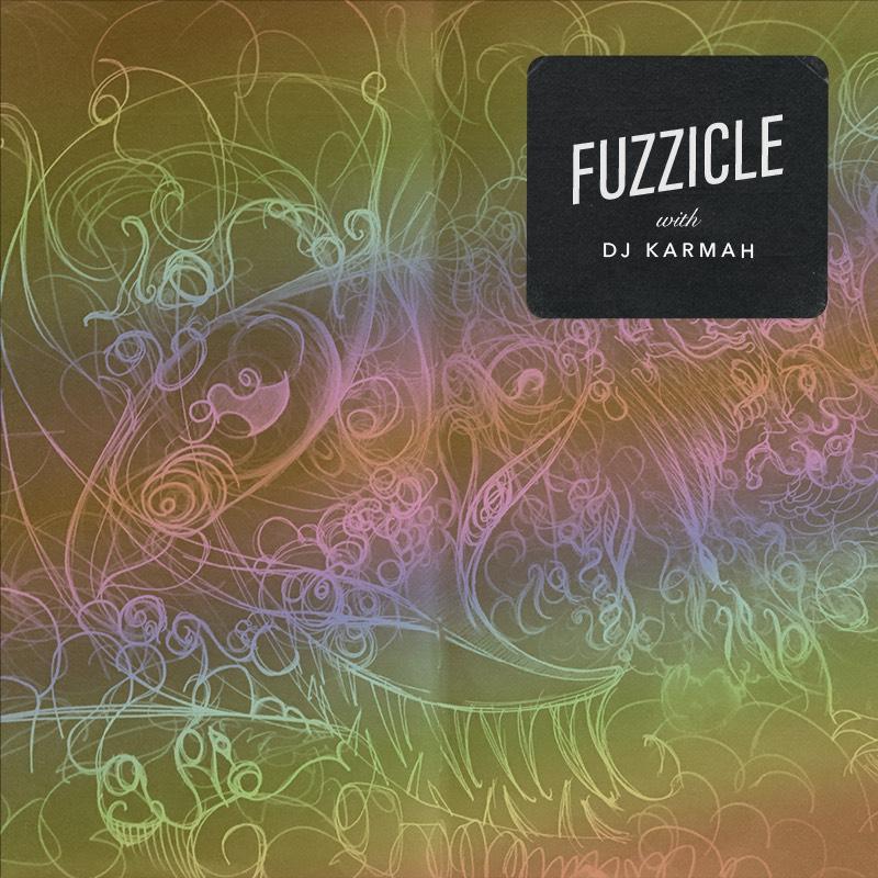 2-4pm PT - FuzzicleDJ KarmahWeird, fuzzy, shoegazing rock