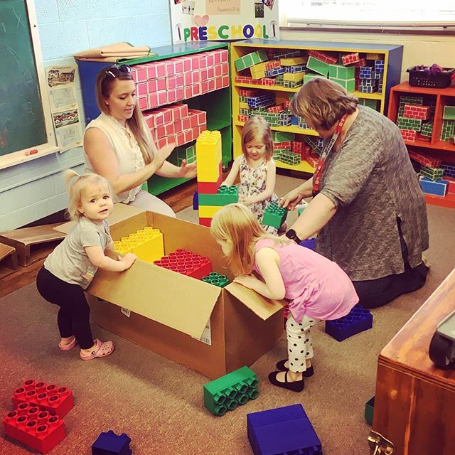 So thankful for Growing Tree PreSchool in Athens! Was fun to encourage future builders and architects with a gift of new building blocks for the classroom! #lcrrealty #communityoutreach #thefutureisbright