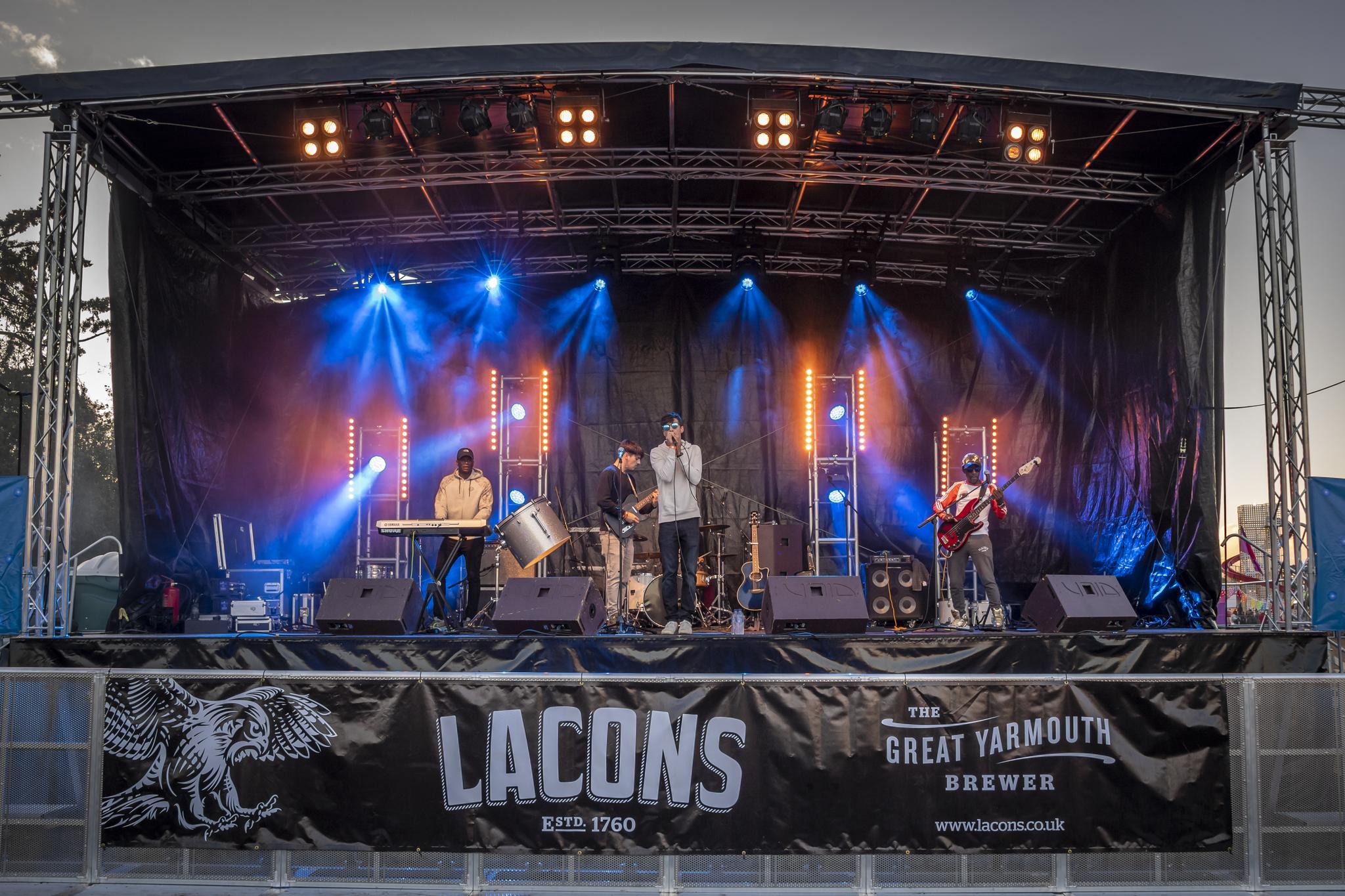 Beastie Boys tribute Beast Decoys at Norfolk Showground