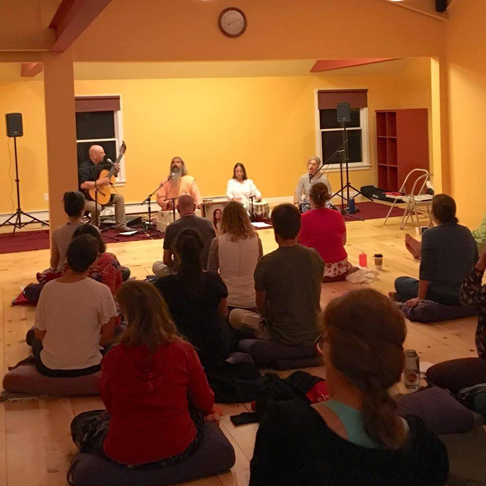 Kirtan with Swamiji, 2018