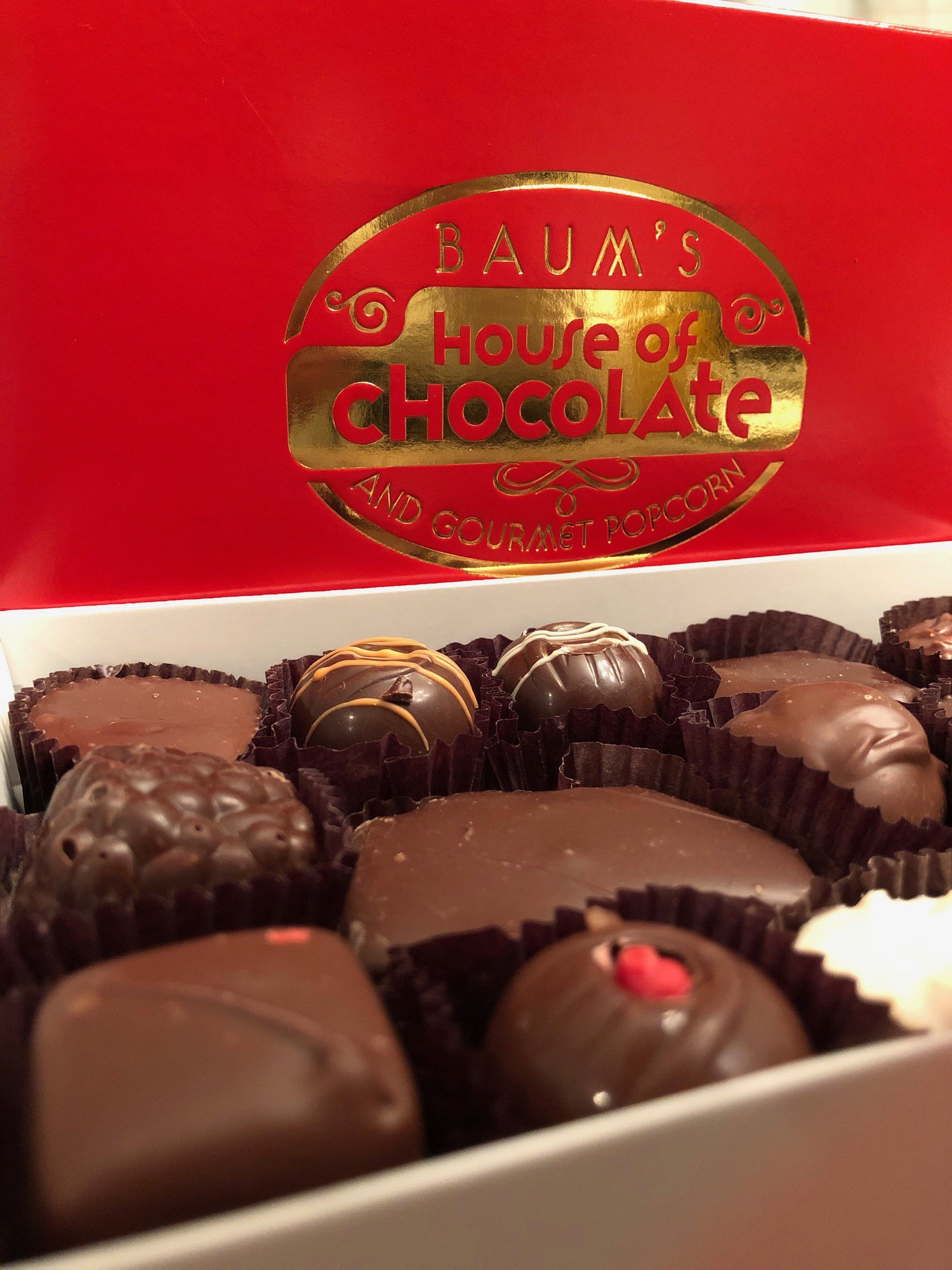 1/2 lb. assorted (shown) or truffles - You can't go wrong with either one, unless you have a nut allergy…then you should stick with the truffles! $20