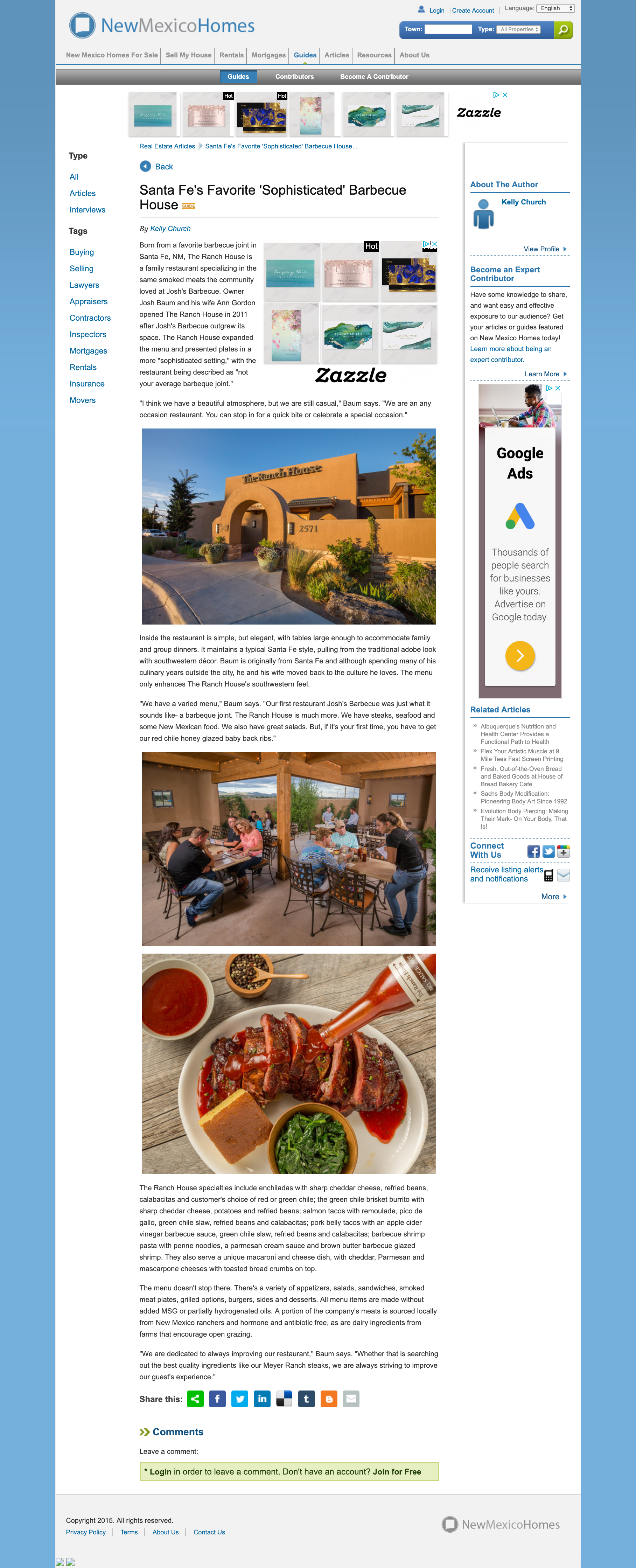 New Mexico Home-Santa Fe's Favorite 'Sophisticated' Barbecue House - www.newmexicohomes.com.png