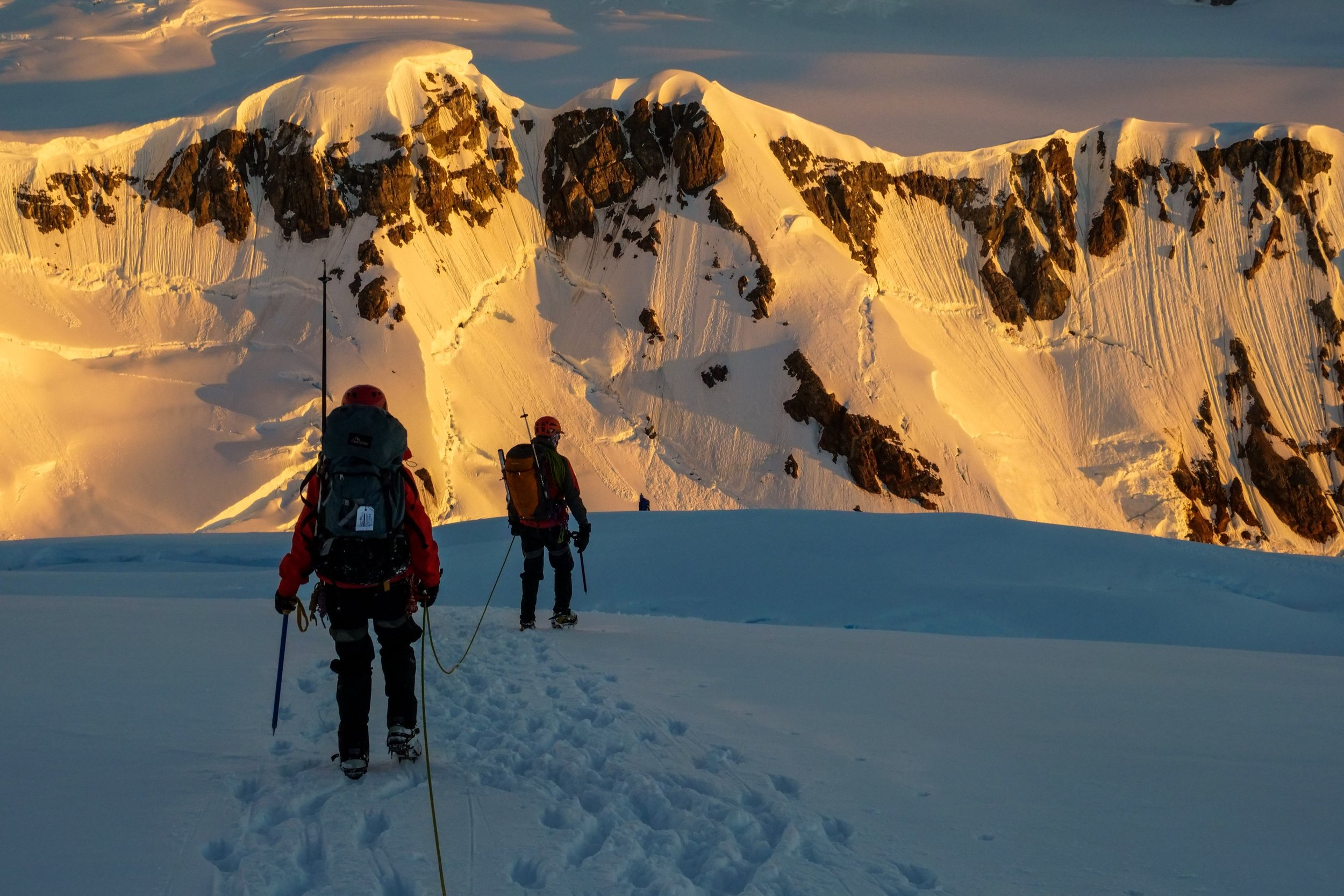 An account of an expedition to the Antarctic Peninsula to climb Mt Scott READ -