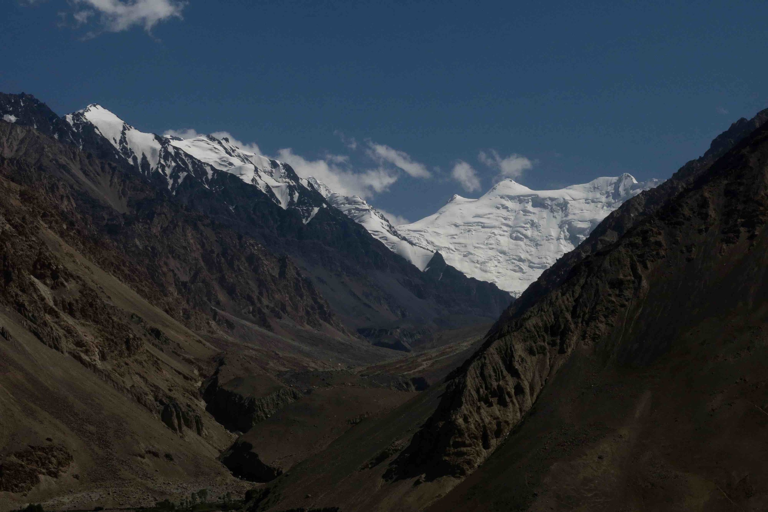 "The Hindu Kush or ""Hindu Killer"" mountains"